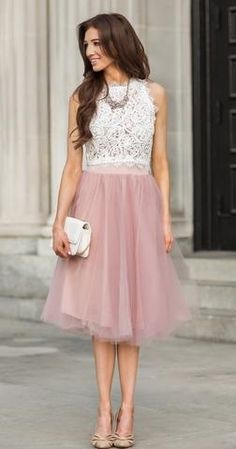 No words needed...this soft, flowing and pretty in pink feminine dress is lovely!