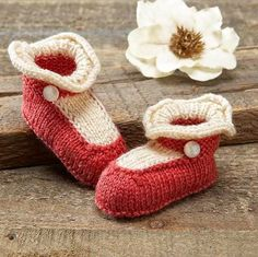 Any mom or grandma can knit their little one a pair of easy baby booties. Why not try these Mary Jane Baby Booties to help your baby really stand out from the crowd?