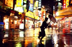 Credit: Jurgen Burgin (Germany) Midnight, Tokyo, Japan – Tokyo rain