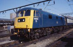 83002 Crewe 1 June 1979 Electric Locomotive, Diesel Locomotive, Uk Rail, Train Room, Electric Train, British Rail, Great Britain, Live, World