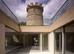 The Round Tower by De Matos Ryan Architects.