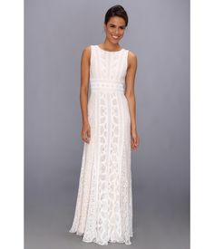 Revel in the romantic rhythm of this exquisite BCBGMAXAZRIA™ gown.. Contoured gown flaunts elegant...