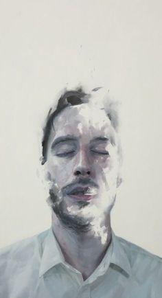 """Saatchi Art Artist: Henrik Uldalen; Oil 2012 Painting """"No title"""" saatchiart.com"""