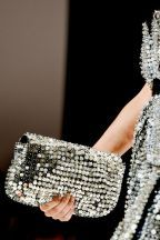 clutch de lantejoulas prata