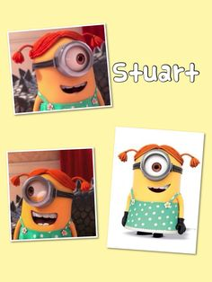 "Stuart from ""Despicable Me 2"""