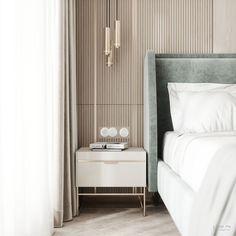 Modern + Elegant Bedroom – home accessories Hotel Bedroom Design, Master Bedroom Interior, Home Bedroom, Bedroom Decor, Modern Elegant Bedroom, Modern Hotel Room, Suites, Luxurious Bedrooms, Home Interior Design