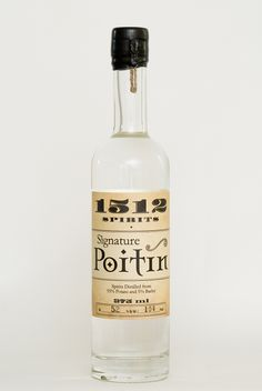 "Spirits Signature Poitin    I'm not sure if it will be the ""next big thing,"" but if you haven't heard of poitin already, prepare yourself for it. What's poitin? It's an Irish spirit distilled from potatoes and/or barley, heavy on the alcohol, dating back hundreds of years. Not quite a vodka and not quite a white whiskey, it occupies a curious position of serving as Ireland's answer to American moonshine. (Or, more correctly, moonshine is First Date Tips, First Dates, Top Whiskeys, Irish Chocolate, Celtic Culture, Green Food Coloring, Big Thing, Whisky, Vodka Bottle"
