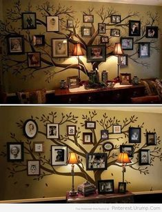 Family Tree Wall Decal – Beautifully Display Your Ancestry! #home