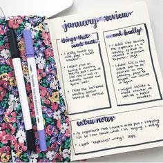 171 個讚,5 則留言 - Instagram 上的 Ash • bizzyb10 doodles(@bizzyb10_doodles):「 Decided to do a January bullet journal review - so things I want to do again and things I regret… 」