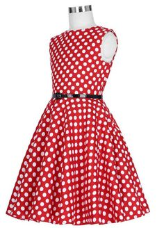 204f5a460aa61 SIZZLING DEAL ON GIRL S POLKA DOT RETRO DRESSES FOR FIRST 10 ORDERS ONLY