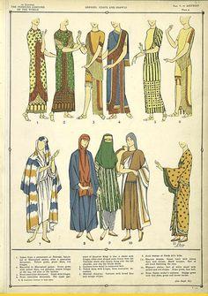 The luxurious Assyrian costumes./ Paul Louis de Giafferri ([1926-1927])