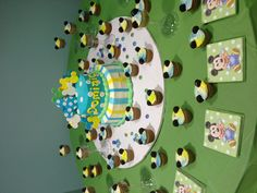 Disney Themed Cake & Cupcakes for Baby Shower