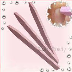 $ 1,56 1PC única Pedra lixa de unhas Cuticle Remover Trimmer amortecedor do prego Ferramenta de Arte (cor aleatória) - BornPrettyStore.com