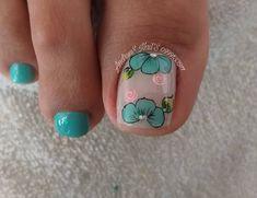 Pedicure Designs, Pedicure Nail Art, Toe Nail Designs, Toe Nail Art, Toe Nails, Purple And Pink Nails, Cute Nail Colors, Polish, Fancy