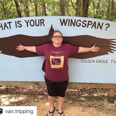#Repost @van.tripping with @repostapp.  What is your wingspan? Compared to a Golden Eagle... #AlabamaWildlifeRehabilitationCenter #wildlife #oakmountain #nature @wendyhmorgan