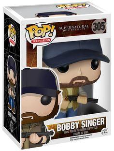 Bobby Singer Vinyl Figure 305