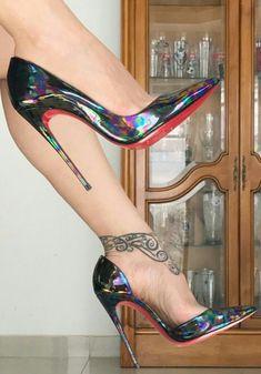 Legs & Feet ✾ in Heels Hot Heels, Sexy High Heels, Extreme High Heels, Beautiful High Heels, Platform High Heels, High Heel Boots, Stilettos, Pumps Heels, Stiletto Heels