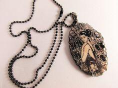 A Luna Hearts Wearable Art by Sherry Castro