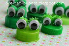 Love and Lollipops: Ten Super Bottle Top Crafts
