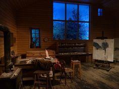 Balthus studio