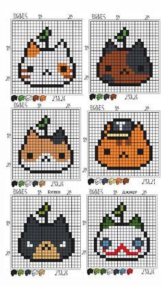 Cross Stitch Art, Cross Stitch Designs, Cross Stitching, Cross Stitch Embroidery, Cross Stitch Patterns, Fuse Bead Patterns, Kandi Patterns, Perler Patterns, Beading Patterns
