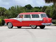 1956 Ford Country Sedan 8-passenger Station Wagon
