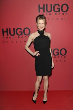 Renee Zellweger wearing #HUGO on the red carpet at the #HUGO Fashion Show Fall 2013.