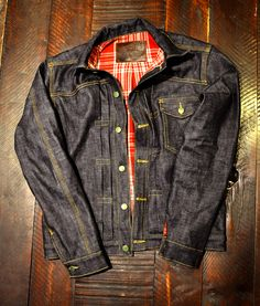 Left Field - MULE SKINNER DENIM JACKET ⓀⒾⓃⒼⓈⓉⓊⒹⒾⓄⓌⓄⓇⓀⓈ