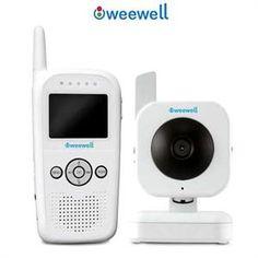 Weewell WMV 841 Görüntülü Dijital Bebek Telsizi konuşma özellikli (HEDİYELİDİR)