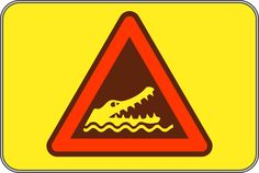 File:Crocodile warning sign 01.svg