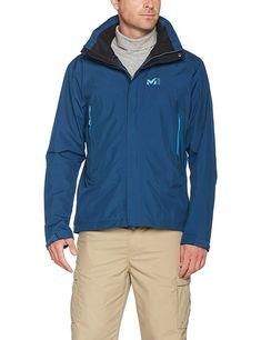 80cc94103 Millet Grand Montets Goretex GTX Jacket shell XXL BNWT Poseidon Blue  Waterproof