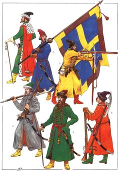 """Studio """"Siberia"""" forum --- Forum: Armies of an epoch of the Renaissance / Армии эпохи Ренессанса --- Thread: MOSCOW STRELTZY(musketeers) OF THE 17-th CENTURY."""