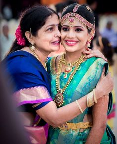 MOTHER'S LOVE TOWARDS BRIDES…!!!  #Wedding #Ezwed #Photography #SouthIndianWedding