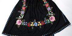Slovenské ľudové umenie - výšivky Folk Costume, Costumes, Bobbin Lace, Boho Shorts, Embroidery, Womens Fashion, Skirts, Apron, Inspire