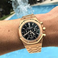 AP Royal Oak Chrono Rose Gold and Complete $43000 Email us To Purchase