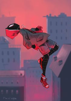 Tribute to Spiderman into the spider-verse Spiderman And Spider Gwen, Spiderman Art, Marvel Dc, Marvel Comics, Miles Morales Spiderman, Scarlet Spider, Spider Verse, Marvel Cinematic, Character Design