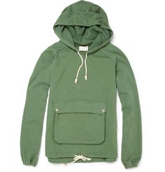 Amazing green hoodie... love the military front pouch