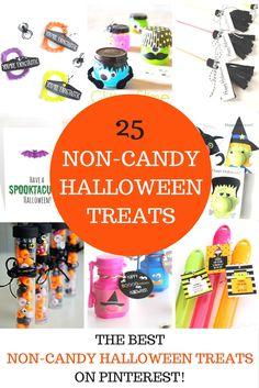 25 Non-Candy Halloween Treat Ideas