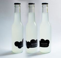 REVCLOUD.PL beverage packaging to celebrate 1 year anniversary of studio.