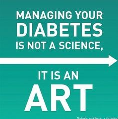 this is one of my favorite lines when teaching about diabetes...