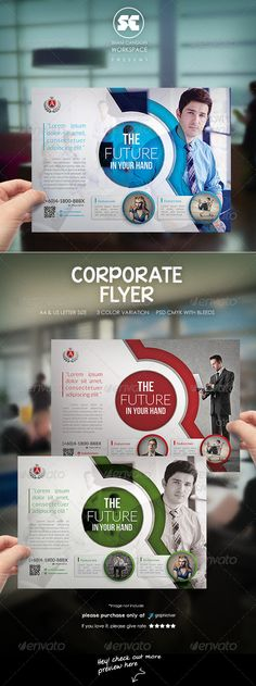 Modern Corporate Flyer Template PSD | Buy and Download: http://graphicriver.net/item/modern-corporate-flyer/8025180?WT.ac=category_thumb&WT.z_author=shamcanggih&ref=ksioks