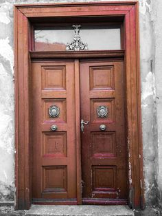 Door somewhere in Jawor, Poland