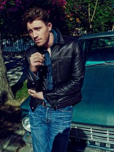Garret Hedlund, by Beau Grealy for InStyle Men