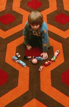 """Little pigs, little pigs, let me come in. Not by the hair of your chiny-chin-chin? Well then, I'll huff, and I'll puff, and I'll blow your house in!"" - The Shining (1980)"