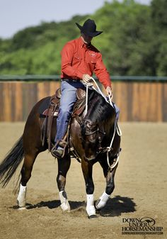 Riding Exercise #15: Backing Shoulder In/Shoulder Out Goal: The horse should allow you to position his shoulders wherever you want them to be and remain light and soft in your hands while backing. Learn more: https://www.downunderhorsemanship.com/Store/Product/MEDIA/D/254/
