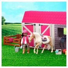 Lori Horse Barn, Doll Accessories