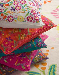 Lulu & Nat cushion covers, love these colours