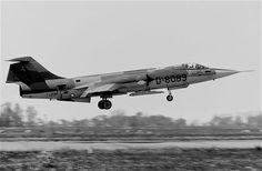 "Lockheed F-104G ""Starfighter"" Royal Netherlands Air Force, Leeuwarden, Netherlands 1980"
