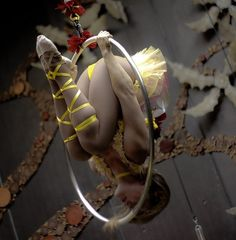 Amazing!!  Lyra   performance. Aerial dance is beautiful   This will be me sooner then later;)