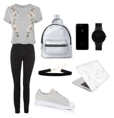 """""""#Casual 1"""" by chavelles on Polyvore featuring Topshop, adidas, Recover, Madden Girl and CLUSE"""